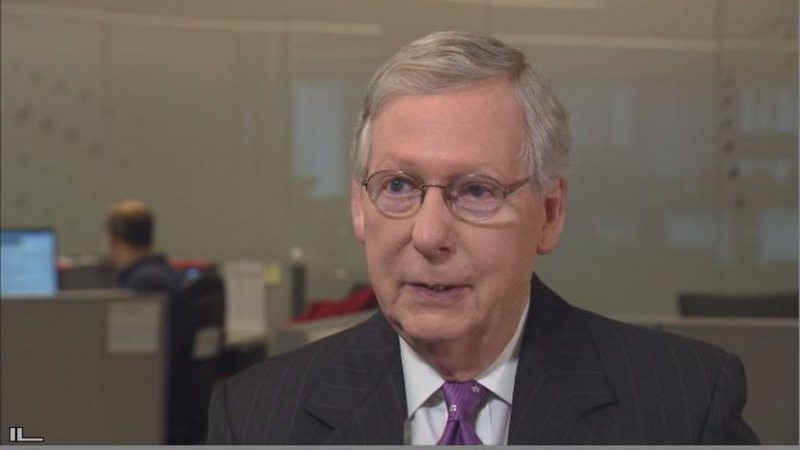 Exclusive: McConnell  bonds with Trump; wary on healthcare bill