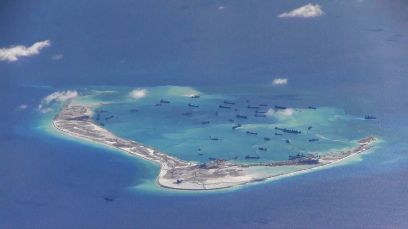 U.S. launches first South China Sea Patrol under Trump