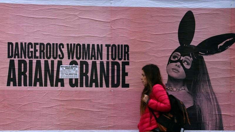 Ariana Grande suspends tour after attack