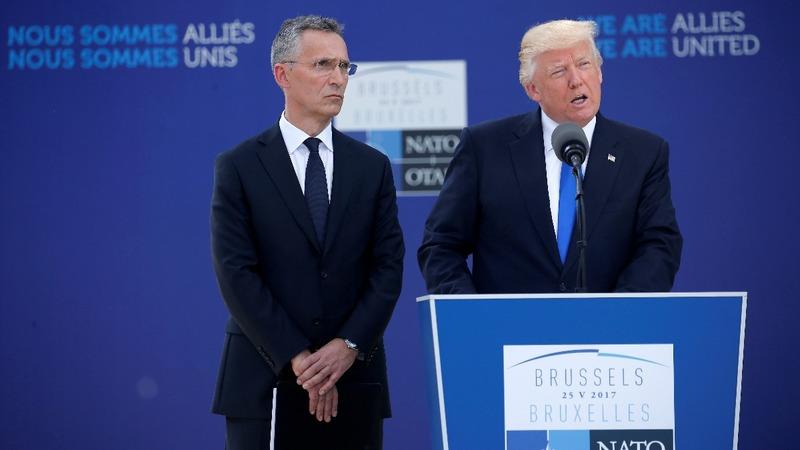 VERBATIM: Trump criticises NATO's defense spending