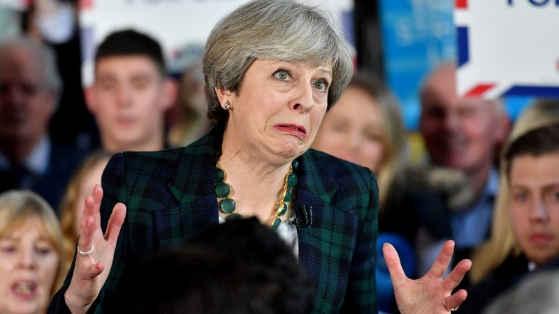 Labour closes the gap on Theresa May's Tories