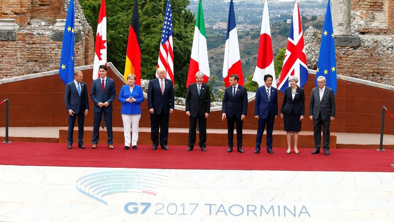 Who's on team Trump as G7 meet