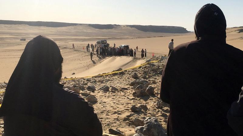 Gunmen attack Coptic Christians in Egypt