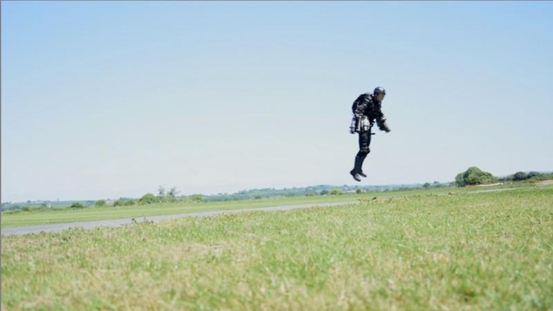 VERBATIM: The real-life Iron Man suit