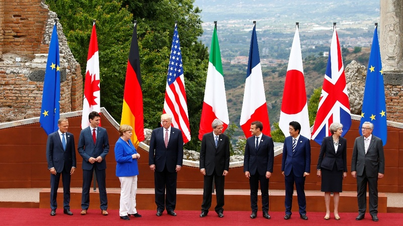 Trump leaves G7 struggling for unity