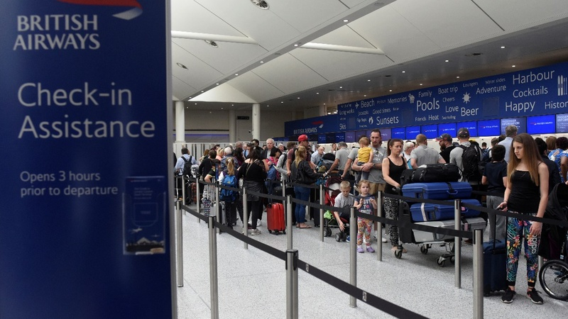 BA says most flights now running