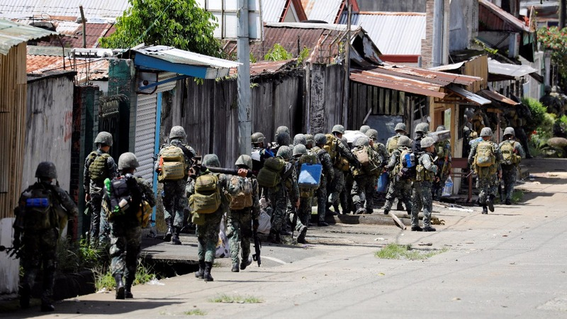 Philippines fears militants may leave besieged city