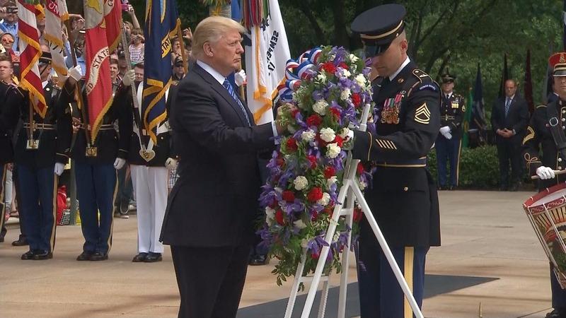 INSIGHT: Trump honors war dead