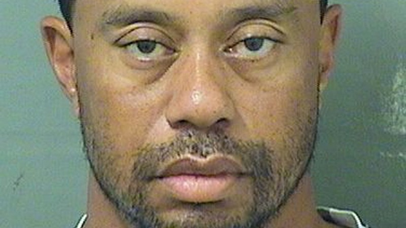 Tiger Woods arrested on DUI charge