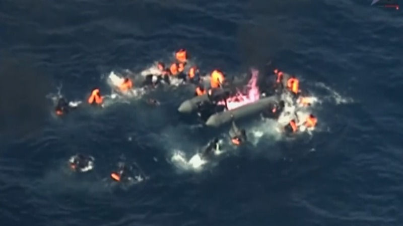 INSIGHT: Migrant boat catches fire