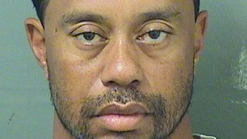 Tiger Woods asleep at wheel in Florida arrest