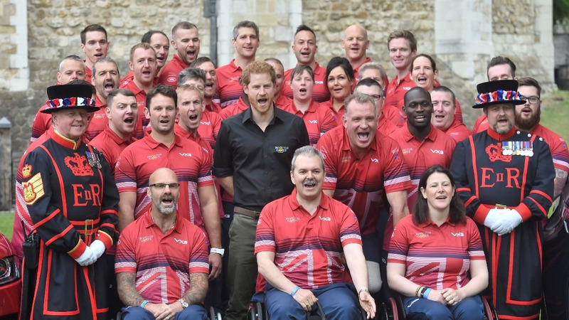 INSIGHT: Prince Harry unveils Invictus squad