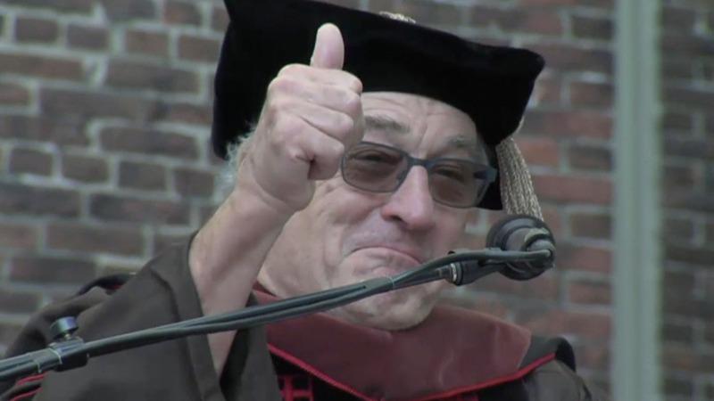 VERBATIM: 'You're graduating into a tragic dumbass comedy'
