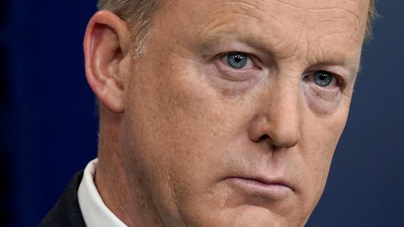 VERBATIM: Spicer returns, decrying 'false narratives'
