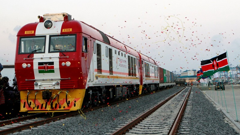 Chinese-built rail replaces Kenya's 'Lunatic Express'