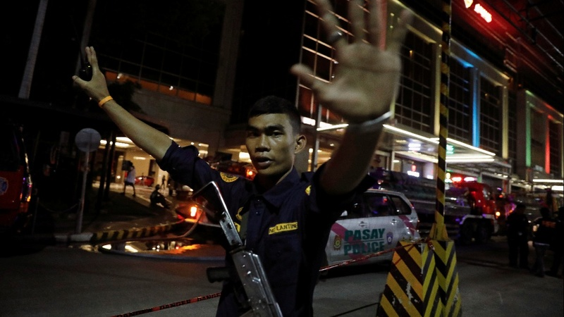 Robbery suspected in Manila casino attack