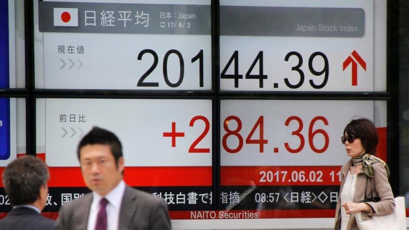 World stocks hit record high