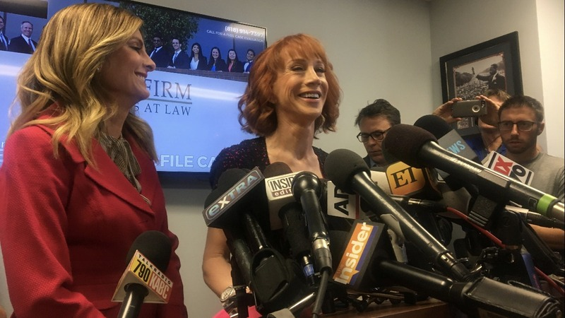 VERBATIM: Kathy Griffin says Trump is trying to ruin her