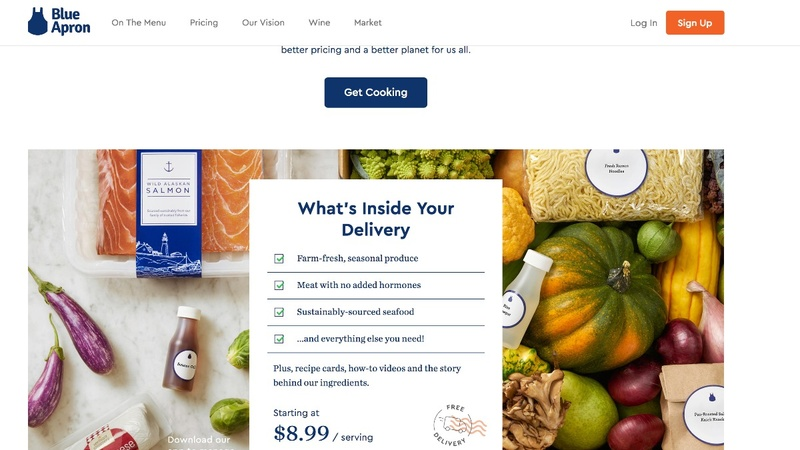 Blue Apron files for IPO
