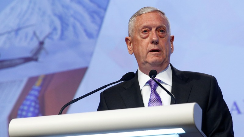 VERBATIM: Mattis warns Beijing on south China Sea