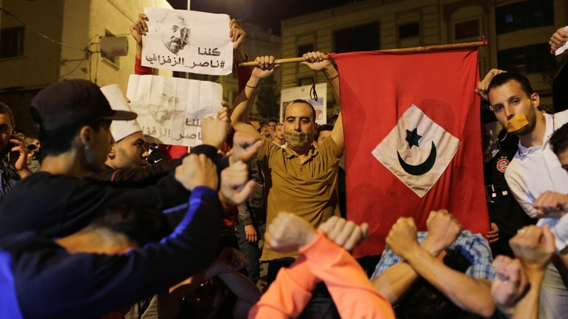 Thousands protest in northern Morocco