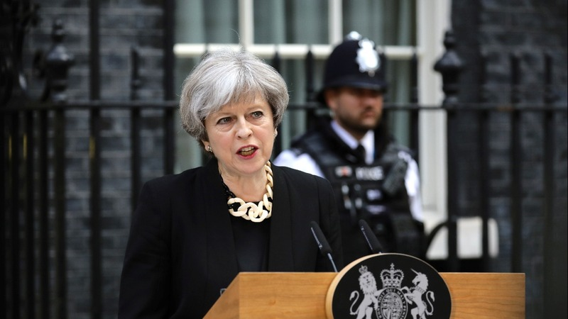 UK PM says attack won't stop election