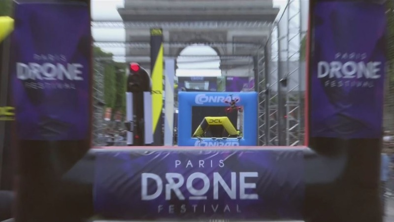 INSIGHT: Drones race through streets of Paris