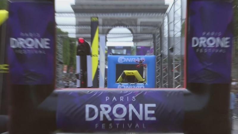 INSIGHT: Drones race through streets of Paris