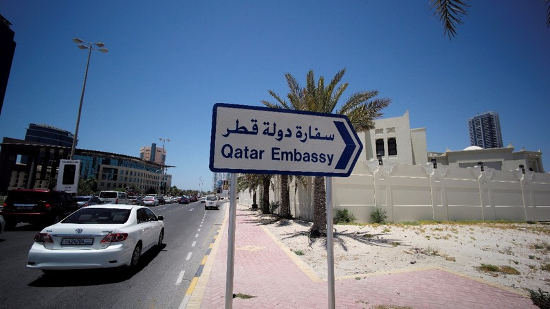 "Countries cut links with Qatar over ""terrorism"""