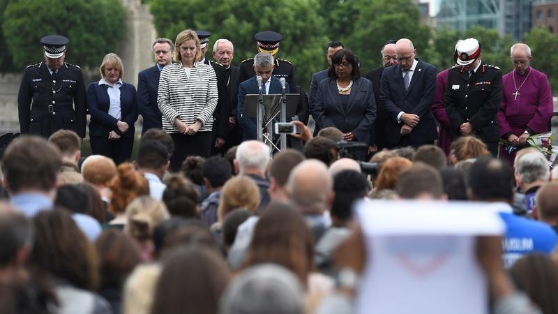 INSIGHT: London vigil for 'innocent lives' lost