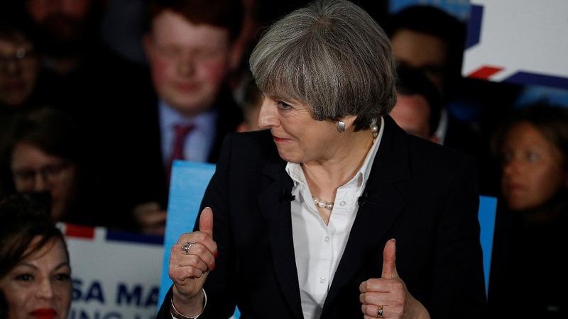 Poll shows UK PM May won't win majority