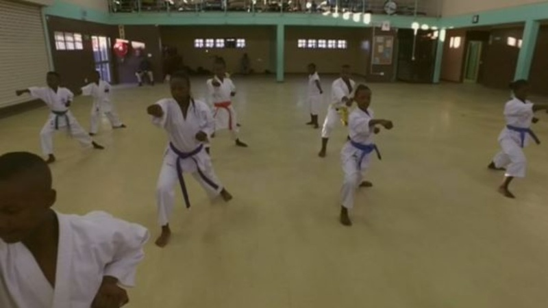 Kids get a fighting chance in South Africa