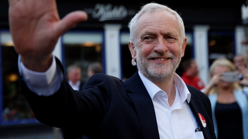 Corbyn supporters want UK to #FeelTheBern