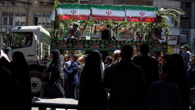 INSIGHT: Thousands mourn victims of Tehran attacks