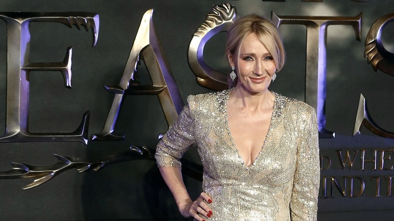 J.K. Rowling defends UK's May over sexist attack