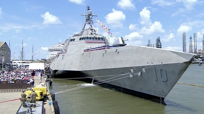 INSIGHT: USS Gabrielle Giffords commissioned in Texas