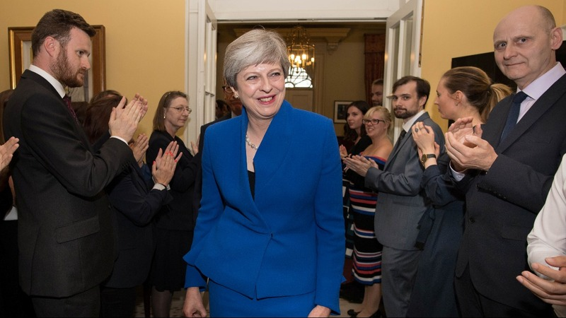 UK PM courts Northern Irish party to cling to power
