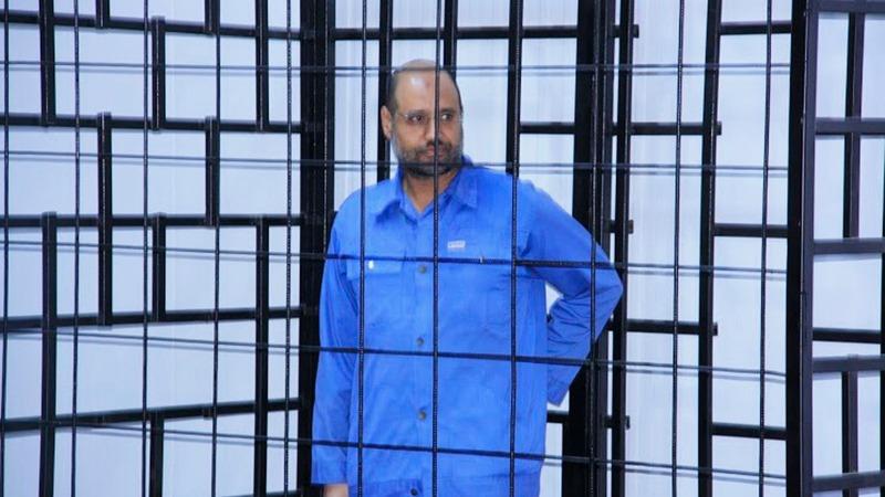 Gaddafi's son released in western Libya