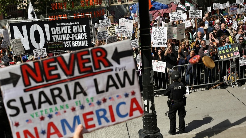 Violence at Seattle's 'March Against Sharia'