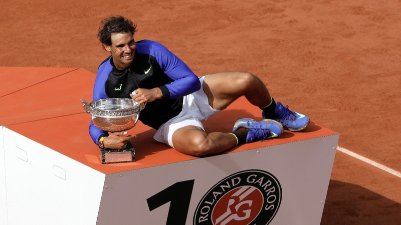 Nadal crushes Wawrinka to win French Open