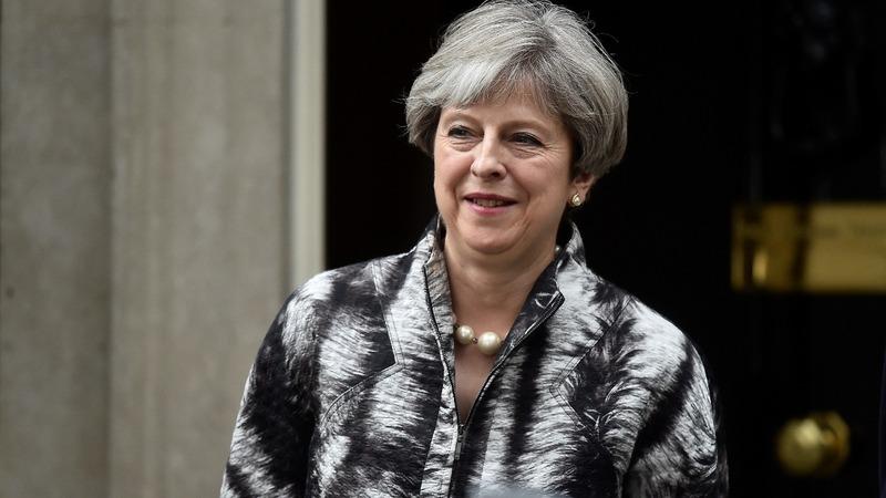 UK PM May battles to save leadership