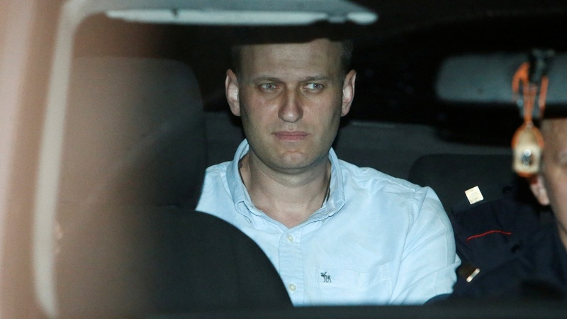 Putin critic Navalny jailed in Russia protests