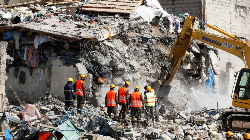 15 missing in Kenyan building collapse