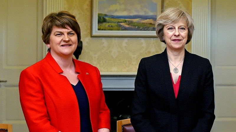 May buys herself  time, eyes DUP talks
