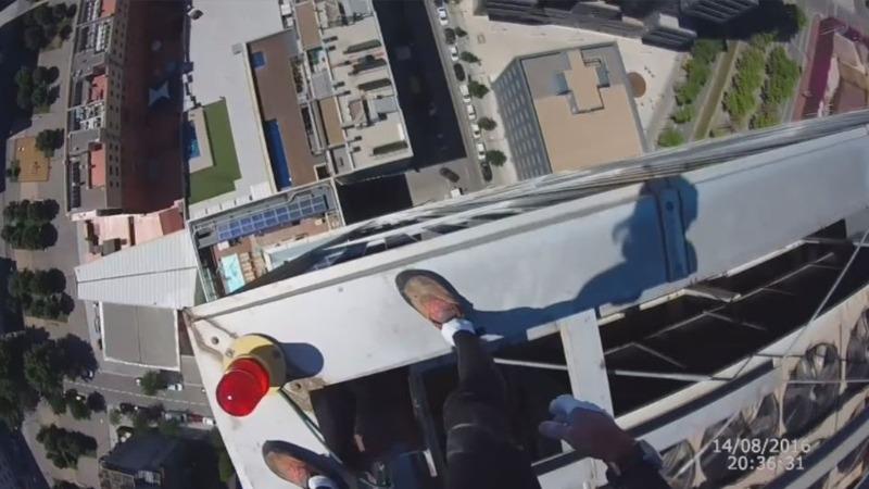 INSIGHT: Real-life Spiderman scales skyscraper