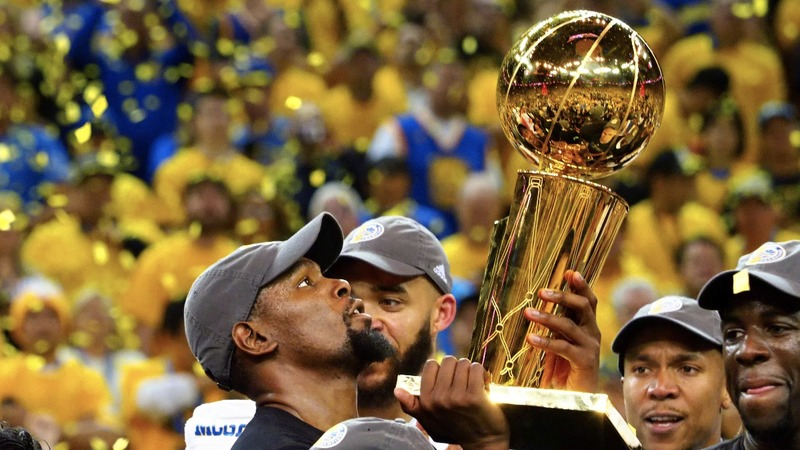 Warriors ride Durant to clinch NBA title