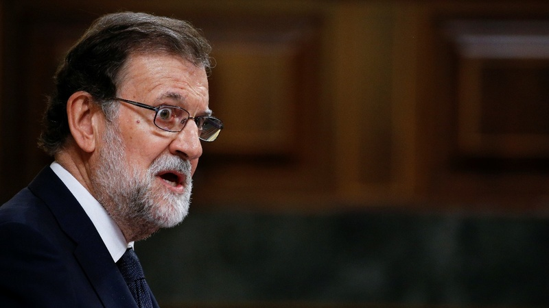 Spanish PM faces no confidence vote
