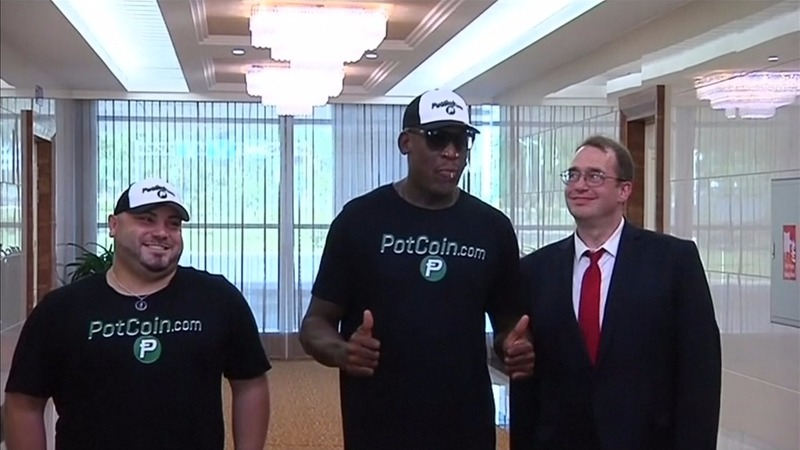 Dennis Rodman arrives in North Korea to try to 'open a door'