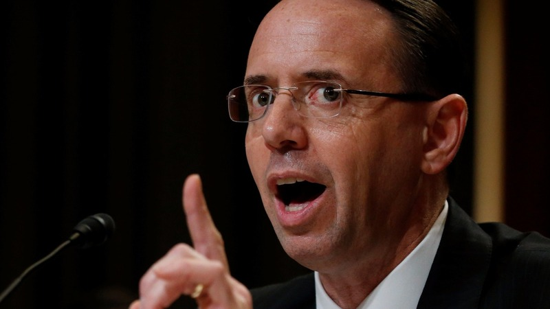 Rosenstein knocks down talk of firing Mueller