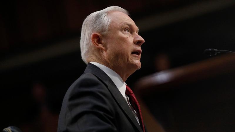 VERBATIM: Sessions: 'I am not stonewalling'